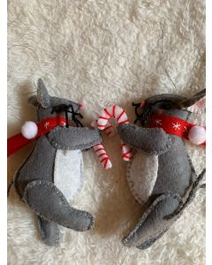 Christmas Tree Ornaments. The Dark Grey Rats