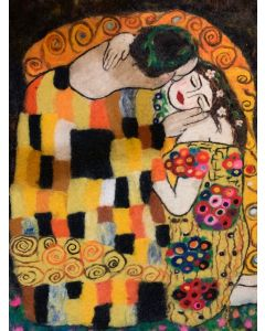 The Kiss by Gustav Klimt (Big Art)