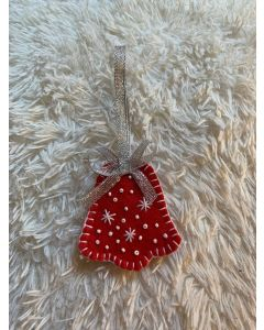 Christmas Tree Ornament. The Red Bell