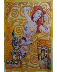 Golden Girl by Gustav Klimt