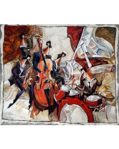 Six Musicians by Nathan Brutsky